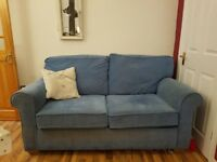 Sofa bed - solid and decent condition. Needs collected