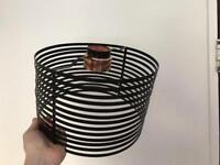 Black / Copper Metalic Lampshade