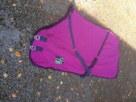 Masta Cerise Pink Horse Fleece Stable Rug 6'9