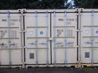 Secure onsite container storage to hire.