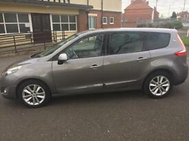 Renualt grand scenic 1.5 dci 7 seater I music special edition £130 tax 50+ mpg