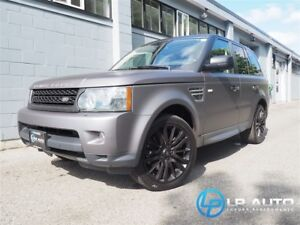 2011 Land Rover Range Rover Sport HSE Luxury! Only 75000kms! Eas