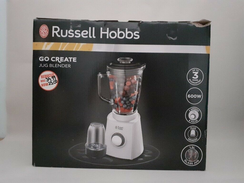 Buy Russell Hobbs Go Create 1.5L Glass