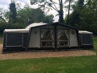 Isabella Ambassador Awning + 2 Isabella Bedroom Annexes inc. inner tents