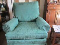 Green Multi York Armchair