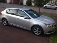 Chevrolet Cruze LT automatic, spacious & in great condition, 2 pre owners, available end of August