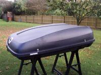 Halfords Roof Box - Karrite - Black