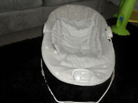 Mamas and Papas baby seat that vibrates and plays music