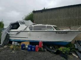 27 foot fishing boat