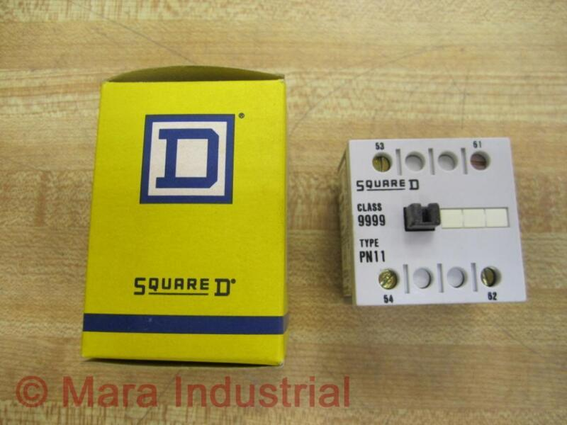 Square D 9999-pn-11 Auxiliary Contact 9999pn11 (pack Of 36)