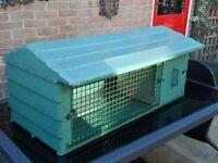 Rabbit Hutch green Fiberglass
