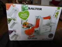 Salter Spiraliser used only a handful of times