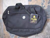 BNWT - SkyFlite Polyester Black Cabin Hand Luggage Bag