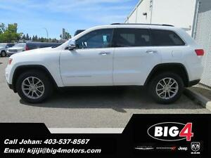 2014 Jeep Grand Cherokee Limited, Leather, Camera, PRICE DROP!!!