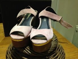 Shoes Soft pink wedge