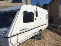 Abbey Acclaim SL 2004 Fixed bed 4 birth tourer