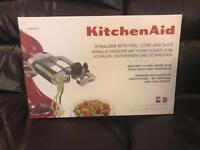 Kitchenaid Spiralizer plus core, slice & peel
