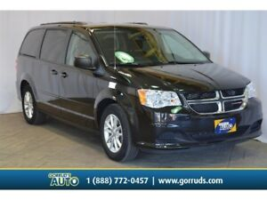 2016 Dodge Caravan SXT PLUS STOW N GO/DVD/REAR AIR/ALLOYS