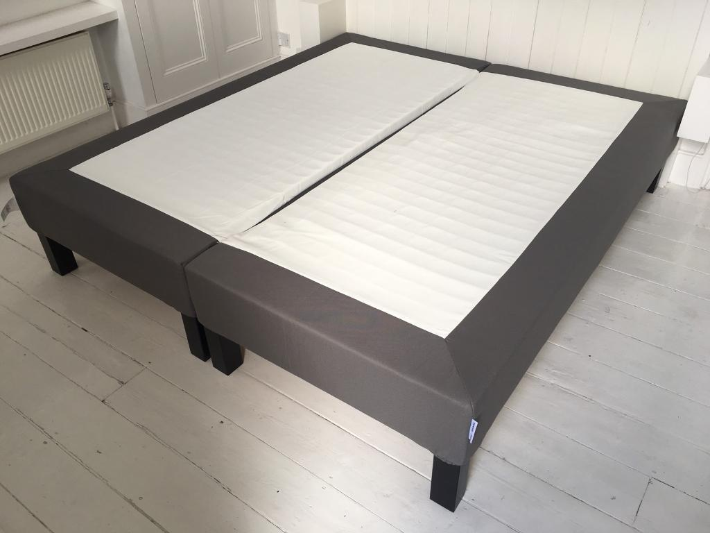 Ikea Super King Espevar Sprung Mattress Base In