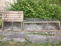 Quality made chicken coop and run £140 bargain