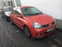 2005 Renault Clio sport 182 genuine cup model 1 owner may swap or px