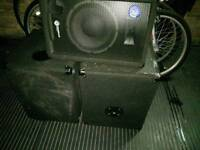 Smartsound PA loudspeakers / Pioneer + Empty cabinet