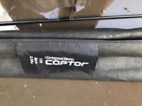 3 drogon carp captor fishing rods