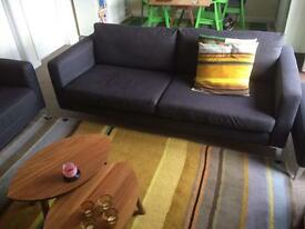 Karlstad 3 seater sofa antracite