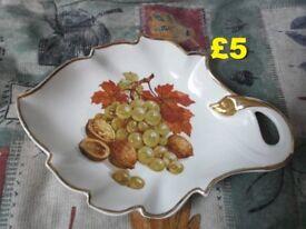 Leaf Shaped Dish