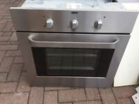 Zanussi oven, fan assisted