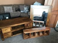Oak furniture set