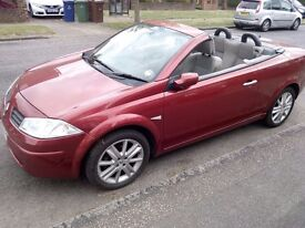 Renault Megane Cabrio Convertible Coupe 2005, 56k - Karmann - Privilege Edition - Low Mileage