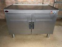 Cougar Stainless Steel Double Door Electric Hot Cupboard