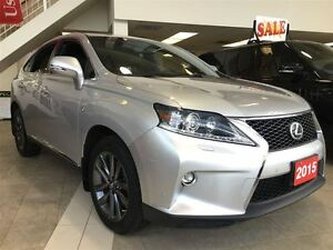 2015 Lexus RX 350 F SPORT NAVIGATION LEATHER CLEAN CARPROOF
