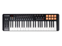 M-Audio Oxygen 49 IV | 49-Key USB/MIDI Keyboard with 8 Trigger Pads UNUSED ORIGINAL IN PACKAGING