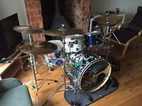 Mapex Meridian Birch custom 5 piece drum kit with lots of extras
