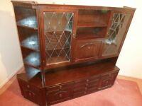 Solid Jacobean Dark Oak Dining Room Furniture