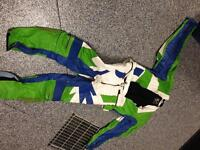 Sportbike Racing Leather 2 Piece into 1 Riding / Racing Suit