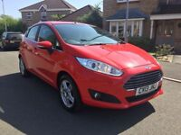2013 '13' FORD FIESTA 1.25 ZETEC (NEW SHAPE) 1 OWNER FROM NEW NEW MOT £30 A YEAR TAX