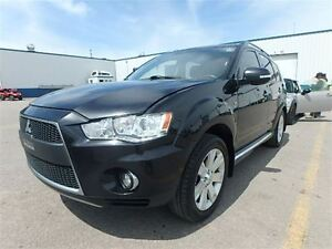 2011 Mitsubishi Outlander XLS AWD MAGS CUIR 7 PASSAGERS