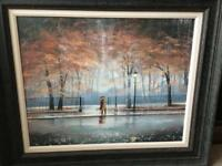 Jeff Rowland We Kissed in the Rain limited edition print