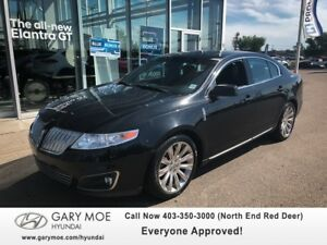 2009 Lincoln MKS AWD W/ PANO SUNROOF, HEATED/COOLED SEATS, BACK