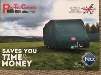 BAILEY PRO TEC CARAVAN COVER BAILEY UNICORN SEVILLE 2013 - 14. & PEGASUS ?