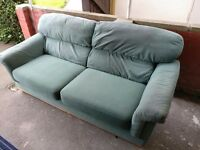 FREE Sofa, 3 seater, Buffalo Suede, Worn but still really comfortable, Needs good home