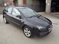 FORD FOCUS 1.6 2005 ZETEC CLIMATE TDCI 5 DOOR BLACK *** 1 OWNER FROM NEW***