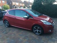 Peugeot 208 1.6 THP GTi, one lady owner, full service history