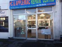 PC and Apple Mac repair centre