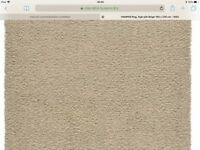 Large Ikea Beige Rug in Very Good Condition