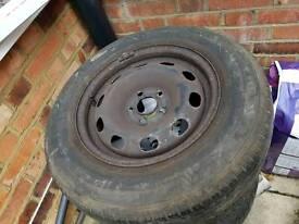 spear wheel for wv golf 4