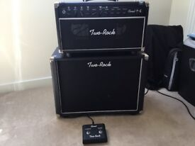 Two Rock Coral 22 Guitar amp with 1x12 cab. Home use only. Hand wired Boutique amp.